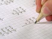 También hago las tareas de matemáticas