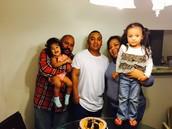 Nieces & parents & big brother