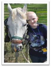 In Loving Memory of the late Dominique! Let's join together to send children in treatment to Camp Can Do!