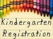 Kindergarten Registration dates for the 2016-17 school year