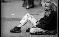 David felt homeless