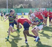 Old Boys Rugby Match