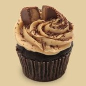 Peanut Butter and Chocolate Cupcake