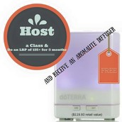 Free Aromalite Diffuser  and Free Visa Gift Cards!