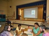 Fifth grade team and vocabulary instruction