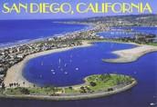 Major city in California