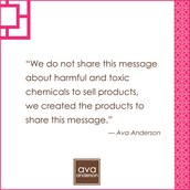 Independent Consultant for AvaAnderson Nontoxic