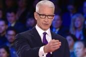 Anderson Cooper as Emmanuel Goldstein