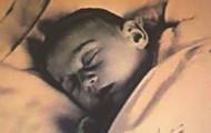 Anne as a baby