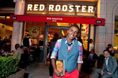 Marcus owns a restruant named red rooster