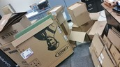 It's a Cardboard Takeover!