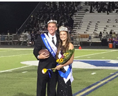 Homecoming King & Queeen