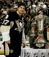 Sidney Crosby with Stanley Cup