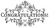 Congratulations Everyone!