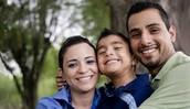 Las familias hispanas