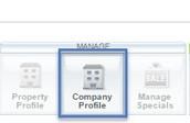 Company Profile Tab