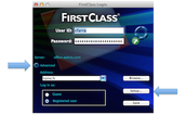 3.   Set up your FirstClass email.