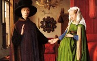Arnolfini Wedding Portrait by Jan Van Eyck, a Northern Renaissance artist.