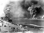 A picture of the bombing