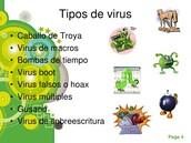 Tipos de virus.