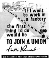 Allowed workers to form unions