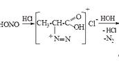 Действие азотистой кислоты