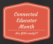 October is Connected Educator
