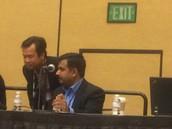 Venkat Ramasubban giving a talk in Oracle Open World
