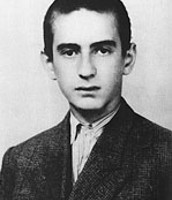 Elie Wiesel at age 15
