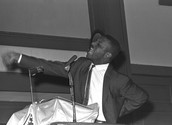 Shuttlesworth speaking at a ralley