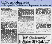 US Apologizes for Incarceration