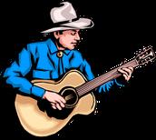 Un ejemplo de un cantante.