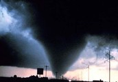 Tornadoes form By..