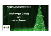 Tuesay Dec 22, Noon until Wednesday Dec 23, 11:59 a