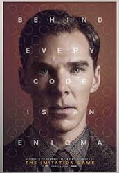 this is a film about 2nd world war where benedict cumerbatch plays alan turing tringing to decode messagews