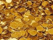 Hay oro y riquezas.