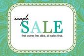*Sample Sale*