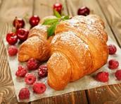 warm buttery bread