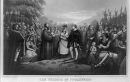 John Rolfe and Pocahontas's Wedding