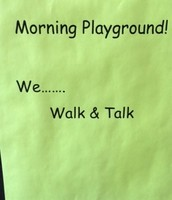 Morning Playground 8:00-8:25 am