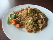 This is Fried Rice with Vegetables.