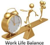 Create work life balance