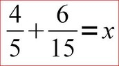 How to add regular fractions