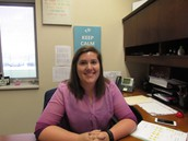 Mrs. Parks, South Creek's New School Counselor by Brody Gilliam