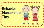 Behavior Management Tips