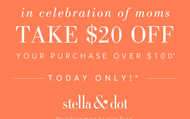 Mother's Day Special Ends Today, May 13th