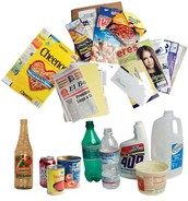 These objects have all been recycled