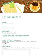 NEW ETT Service Request Form