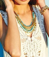 Isa Disc Necklace - $60