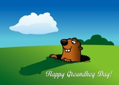 Happy Groundhog Day on Tuesday!